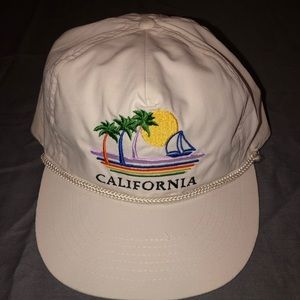 Other - White California hat.